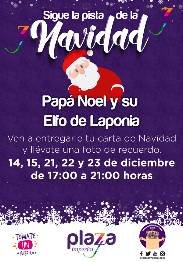 Papá Noel Plaza Imperial